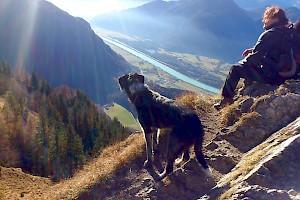 Aussicht am Berg
